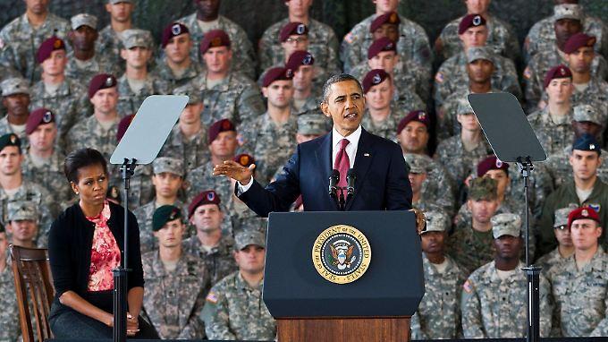 """""""Willkommen daheim"""": Obama zieht Schlussstrich unter Irakkrieg"""