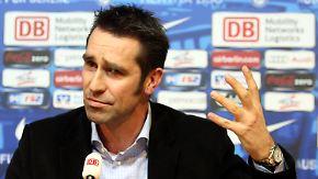 Hertha schmeißt Trainer raus: Preetz dementiert Babbels Aussagen