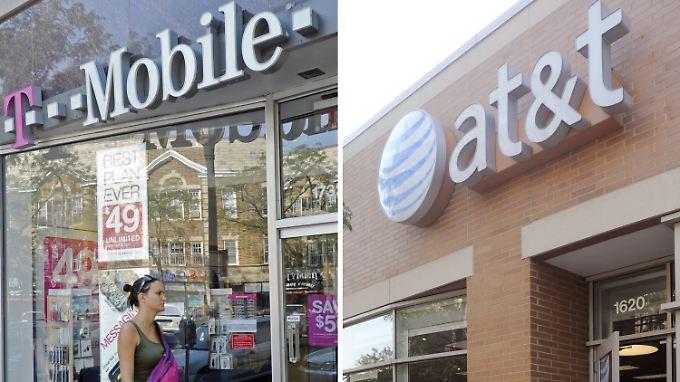 Rückzug in letzter Minute: Deal zwischen T-Mobile und At&T platzt