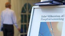 Beim letzten Aktionärstreffen im Mai schien für Solar Millennium die Sonne noch zu scheinen.
