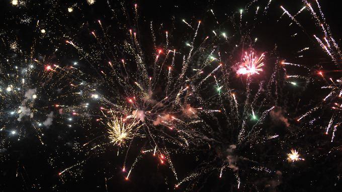Feuerwerk belastet die Luft enorm - also nicht übertreiben!