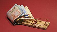 Bei vielen Banken schnappt die Dispo-Falle zu.