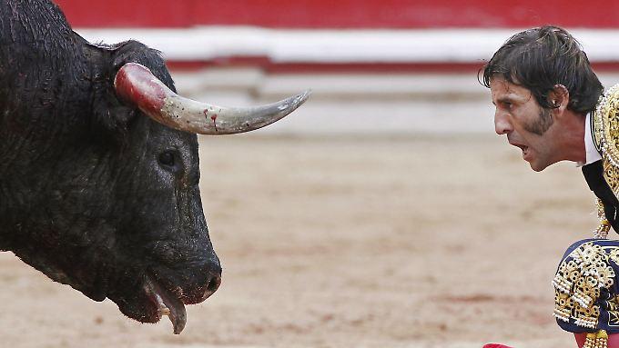 Spanien Auge in Auge mit der Rezession.