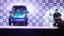 Gut kopiert: Der Bajaj RE 60 ähnelt dem Tata Nano.