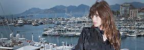 Cannes kennt Charlotte Gainsbourg ja schon.