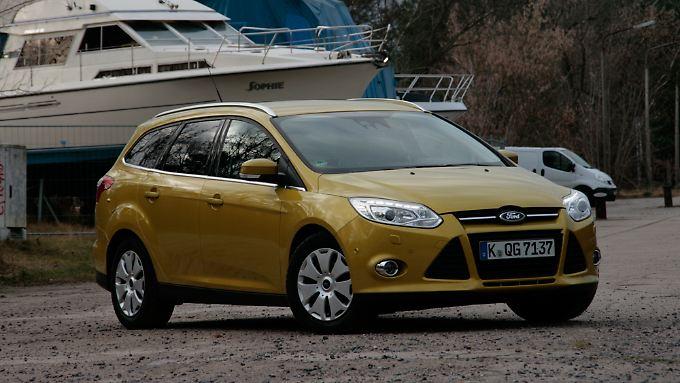 Der Ford Focus hat einen hohen Nutzwert und bietet mehr Platz als die meisten Konkurrenten in seiner Klasse.