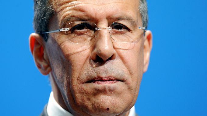 Der russische Außenminister Sergej Lawrow zeigte sich offen für eine Kooperation mit der Opec.