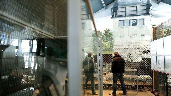 Im Museum der Mahn- und Gedenkstätte Point Alpha.
