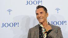 Wolfgang Joop auf der Fashion Week in Berlin.