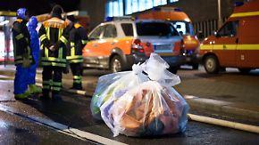 Chemieunfall an TU: Dresdner Feuerwehr gibt Entwarnung