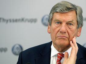 Ekkehard Schulz hat nach eigenen Angaben den Aufsichtsrat über die Kosten informiert.