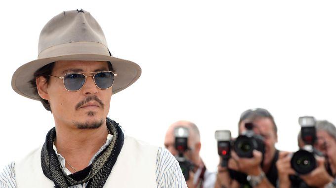 Johnny Depp soll der bestbezahlteste Schauspieler der Welt sein.
