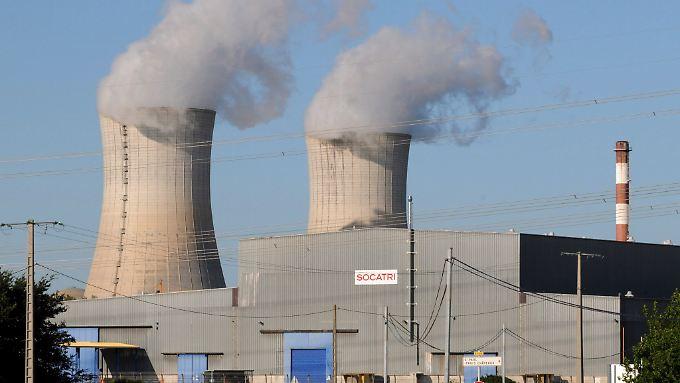 Das Kraftwerk in Tricastin sorgte in der letzten Zeit mehrfach für Schlagzeilen.