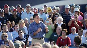 Nicht beliebt, aber aus Sicht der Republikaner offenbar das kleinere Übel: Mitt Romney.