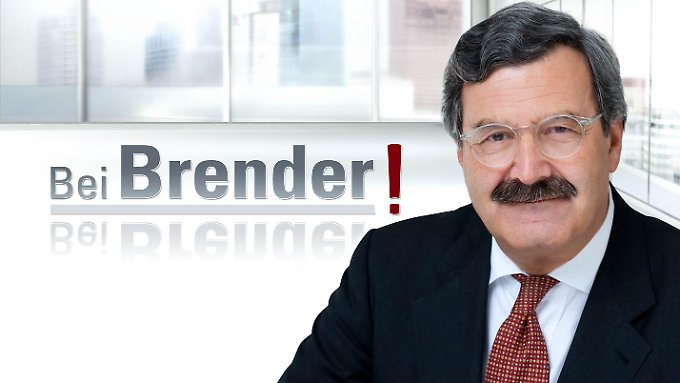 """""""Bei Brender!"""" heißt die neue Sendung des Top-Journalisten."""