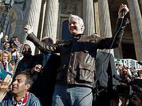 Julian Assange ist nicht bei allen US-Amerikanern beliebt.