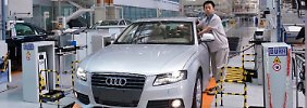 Produktion bei Audi in Changchun.