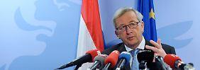 Euro-Gruppenchef Juncker verliert die Geduld