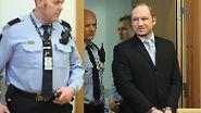 Erste Fotos seit dem Massenmord: Breivik versucht großen Auftritt