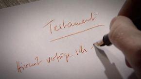n-tv Ratgeber Steuern & Recht: Warum Testamente zu Streit führen