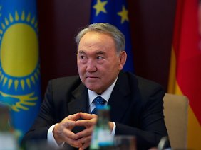 Kasachstans Staatschef Nasarbajew gilt als kalter Machtpolitiker.