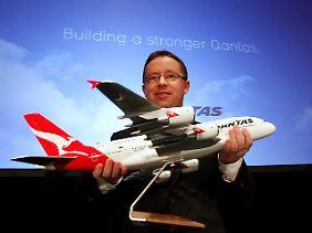 Das hatte sich Qantas-Chef Alan Joyce auch anders vorgestellt.