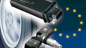 Reifendruckkontrollsystem von Beru: Ab 2012 müssen alle Neuwagen den Reifendruck kontrollieren.