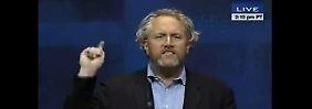 Andrew Breitbart spricht bei der konservativen Konferenz CPAC.