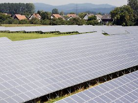 Solarpark in Baden-Württemberg