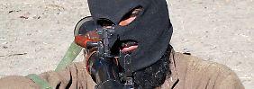 Ein Taliban-Kämpfer in Waziristan.