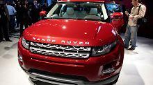 Der Range Rover Evoque soll vor allem bei Frauen beliebt sein.