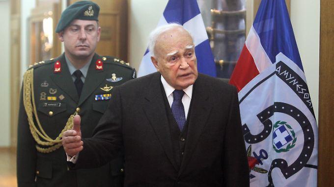Athen ist beleidigt: Staatschef schimpft auf Schäuble