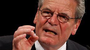 """Lebensthema """"Freiheit"""": Wer ist Joachim Gauck?"""