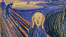 """""""Der Schrei"""" in der Version, die nun bei Sotheby's versteigert wird."""