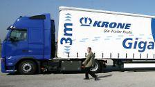 Da rollt was auf uns zu: Riesenlaster auf deutschen Straßen