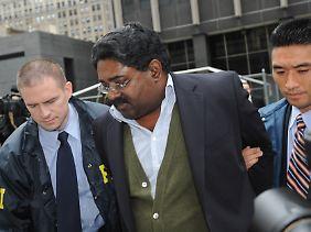 Mit ihm kam die Affäre ins Rollen: Raj Rajaratnam, Gründer des Galleon-Fonds. Gegen eine hohe Kaution ist er wieder auf freiem Fuß.