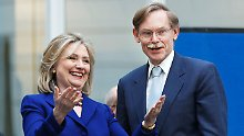 """Hauptsache """"Made in the USA"""": Auch Hillary Clinton gehört zum engeren Kreis der Anwärter auf den Weltbank-Posten."""
