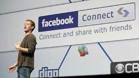 Facebook-Gründer Mark Zuckerberg muss mit seinem Unternehmen Geld verdienen. Am einfachsten ginge dies über den Handel mit Nutzer-Daten.