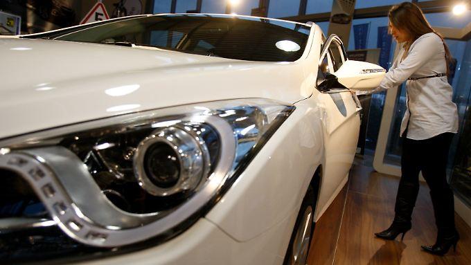 Hyundai ist in Deutschland auf dem Vormarsch.