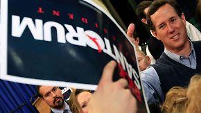 """""""Super Tuesday"""" in den USA: Santorum ist Romney auf den Fersen"""