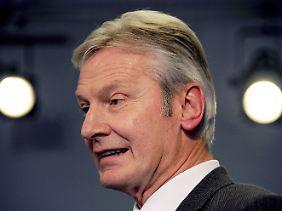 Der für die Atomaufsicht in Schleswig-Holstein zuständige Justizminister Emil Schmalfuß (parteilos).