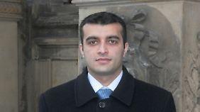 """Rasul Jafarov ist Koordinator von """"Sing for Democracy"""", einem Bündnis von Menschenrechtsgruppen."""