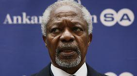 Annan wartet immer noch auf eine Antwort der syrischen Führung.