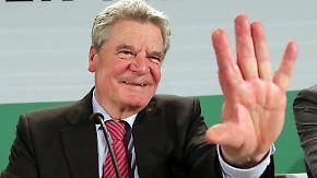 Wahl des Bundespräsidenten: Gauck ist Mehrheit sicher