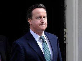 Kaum Spielraum: Premier David Cameron.