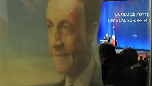 Sarkozy präsentiert sich als starker Mann.