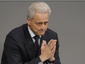 Bayerischer Zungenschlag im Bundestag: Peter Ramsauer.