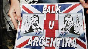 Besetzung vor 30 Jahren: Falkland-Streit schwelt noch immer