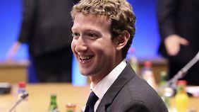 Will Facebook an die Börse bringen: Firmengründer Mark Zuckerberg.