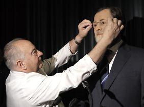 Handlungsunfähig: Manchem Spanier wäre Ministerpräsident Rajoy als Wachsfigur gar nicht unrecht.